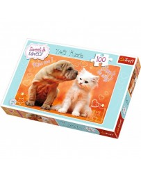 TREFL - PUZZLE SWEET & LOVELY 100 EL. 16264