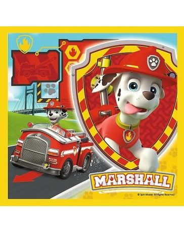 PUZZLE 3 W 1 PSI PATROL MARSHALL RUBBL CHASE 34839
